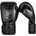 【【VENUM】 ボクシンググローブ Challenger2.0 (チャレンジャー) Boxing Gloves (黒/黒) (16オンス)】 b01aueal9a