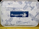 【Rugged Bearヴィンテージ飛行機シートセット、フルサイズ】 b01i49rwa4