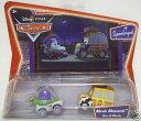 【送料無料】【Disney Cars Movie Moments SuperCharged Buzz Woody】 b0015i8vxy