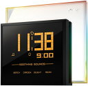 【送料無料】【大型液晶ディスプレイ★RM901A Rainbow Clock レインボー クロック Oregon Scientific社【並行輸入】】 b004lzlvto