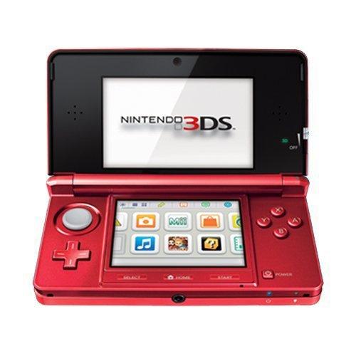 【送料無料】【Nintendo 3DS Flame Red - ニンテンドー 3DS フレーム レッド (海外輸入北米本体)】 b0050svmya