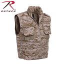 【送料無料】【ロスコ レンジャーベスト デザートデジタルカモ Rothco Ranger Vests Desert Digital Camo 72550 (M)】 b00ozswtw0