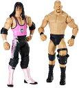 【送料無料】【WWE Wrestlemania 32 Steve Austin and Bret Figure 2-Pack】 b014ahlawa