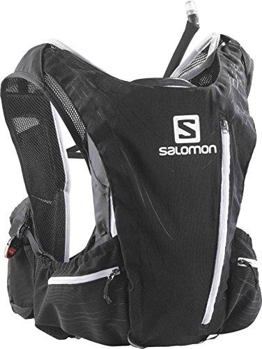 【[サロモン] SALOMON ADVANCED SKIN 12 SET M/L L35632600 ALUMINIUM×RACING BLACK (BLACK)】 b00e1dy87i