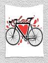 【Ambesonne Love Decorコレクション、Hearts Love YouメッセージRomantic Valentines Day Springtime Cheerfulアート印刷、ベッドルームリビングルーム寮壁吊りタペストリー、ピンクオレンジネイビーパープル 40 W By 60 L tap_11758_Love_05.17_40x60】 b01jgq2fqu