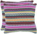 【Safavieh枕コレクション18インチジグザグ枕 22 x 22 ブラウン PIL150A-2222-SET2】