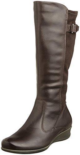 【EccoレディースAbelone Tall Boot カラー: ブラウン】