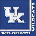 【Kentucky Wildcats Lunch Napkins ケンタッキーワイルドキャッツランチ ...
