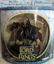 【2003 - New Line / Play Along - Lord of the Rings : Armies of Middle Earth - Aragorn in Gondorian Armor on Horse -】 b004ij5s5g