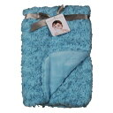 【Blankets and Beyond Rosette Blanket Turquoise by Blankets and Beyond】...