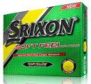 【SRIXON(スリクソン) ゴルフボール Soft Feel Soft Feel (ソフト フィール) ゴルフボール 2ピース構造 2016年モデル 並行輸入品 (1ダ..