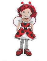 ☆春の特別企画☆エントリーで当店全品ポイント5倍!【Manhattan Toy Groovy Girls Lana Ladybug from Manhattan Toy by Manhattan Toy [並行輸入品]】 b0039zaook