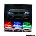 輸入カーパーツ WIFI RGBマルチカラーコンセプトM4アイコニックスタイルLEDエンジェルアイキットBMW 3シリーズF30 320i 328i 335i 330i 340i 318i 330i 2013-17 WIFI RGB Multi-color Concept M4 Iconic Style LED Angel Eye Kit for BMW 3 series F30 320i 328i 335i 330i