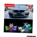 輸入カーパーツ 2014-up BMW F31 3シリーズワゴンアクセサリーRGBWマルチカラーアイコンM4スタイルクリスタルエンジェルアイキットDRL for 2014-up BMW F31 3 Series Wagon Accessories RGBW Multi Color ICONIC M4 Style Crystal Angel Eyes Kit DRL