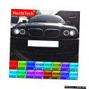 輸入カーパーツ ヘッドライトマルチカラーRGB LEDエンジェルアイズハローリングアイDRL RFリモートコントロールBMW E46 2004-06プロジェクターヘッドライトアクセサリー Headlight Multi-color RGB LED Angel Eyes Halo Ring Eye DRL RF Remote Control For BMW E46 2004-0