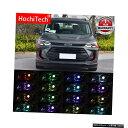 輸入カーパーツ ワイヤレス制御RGB LED悪魔の目ライトキットシボレーオーランド2018 2019 2020プロジェクターライトレンズ Wireless Control RGB LED Demon Eyes light Kit For Chevrolet orlando 2018 2019 2020 Projector Lights Lens