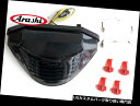 USテールライト Arashi Fit Honda HORNET CB 600 03-06 LEDウインカーテールライトリアブレーキライト Arashi Fit Honda HORNET CB 600 03-06 LED Turn Signal Tail Light Rear Brake Light
