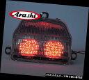 USテールライト 嵐LEDリアブレーキライトターンシグナルテールライトフィットホンダCBR900RR 1993年-199 Arashi LED Rear Brake Light Turn Signal Tail Light Fits Honda CBR900RR 1993 -199