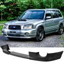 USパーツ フィット03-05スバルフォレスターSG5 DSスタイルフロントバンパーリップスポイラーウレタンPU Fits 03-05 Subaru Forester SG5 DS Style Front Bumper Lip Spoiler Urethane PU