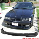 USパーツ 92-98 BMW E36 3シリーズM Tech Msportフロントバンパーリップ未塗装 - ウレタン 92-98 BMW E36 3 Series M Tech Msport Front Bumper Lip Unpainted - Urethane