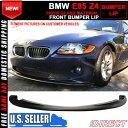 USパーツ 02-05 BMW E85 Z4クーペロードスターHスタイルフロントバンパーリップPU 02-05 BMW E85 Z4 Coupe Roadster H Style Front Bumper Lip PU