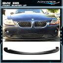 USパーツ フィット:02-05 BMW E85 Z4 EUROスタイルフロントバンパーリップスポイラーポリウレタン Fit: 02-05 BMW E85 Z4 EURO Style Front Bumper Lip Spoiler Poly Urethane