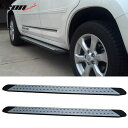 USパーツ フィット07-12 Toyota RAV4 OE FACTORYスタイルランニングボードサイドステップネフバー Fits 07-...