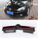 グリル フロントハニカムグリルグリルフィットVWゴルフ6 VI MK6非GTI 10-13 GTIスタイル Front Honeycomb Grill Grille Fit For VW Golf 6 VI MK6 Non-GTI 10-13 GTI Style