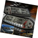 ヘッドライト New 2000-2005 Chevy Impala Base / SS / LS Sport LED DRL Smoke H...
