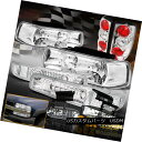 ヘッドライト 2000-2006 Chevy Suburban Tahoe Chrome Headlight + Tail + Fog Li...