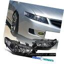 ヘッドライト 2004-2005 Acura TSX Headlights Projector Head Lamp JDM Black 2004-2005 Acura TSXヘッドライトプロジェクターヘッドランプJDM Black