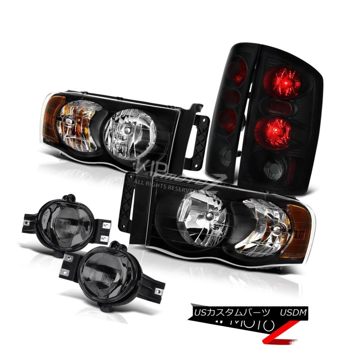 LED Tail Lights For 2003-2008 Toyota Corolla Black Projector Headlights
