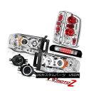 ヘッドライト BRIGHTEST Headlight Rear Signal Light Bumper Fog Euro Third LED 2002-2005 Ram BRIGHTEST ヘッドライトリアシグナルライトバンパーフォグユーロサードLED 2002-2005 Ram
