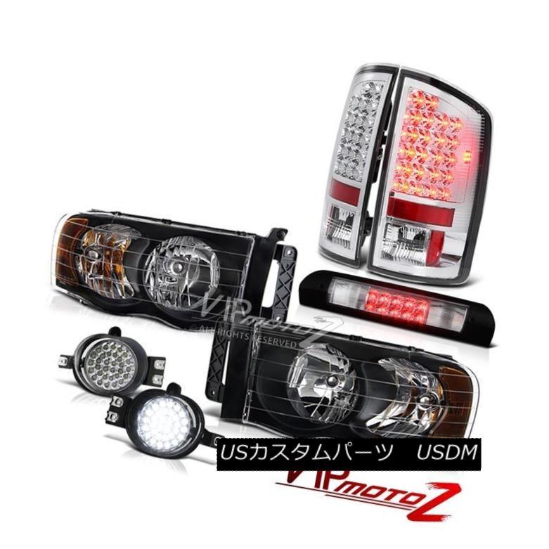 For 88-93 Chevy//GMC C//K Blk Headlights LED Bumper Black//Smoke LED Tail Lights