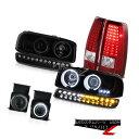 �إåɥ饤�� 03-06 Sierra 5.3L Smoked foglights red clear tail lights parking light headlamps 03-06������5.3L���⡼���ե����饤���ֿ����ꥢ�ơ���饤�ȥѡ����饤�ȥإåɥ���