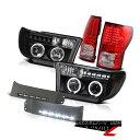 ヘッドライト 2007-2013 Tundra 1GR-FE V6 4.0L Halo Headlight Trim LED Fog Black LED Tail Light 2007-2013 Tundra 1GR-FE V6 4.0L HaloヘッドライトトリムLEDフォグブラックLEDテールライト