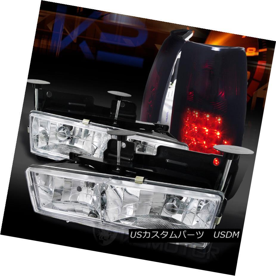 ヘッドライト 88 98 chevy オンライン gmc c k c10 truck chrome