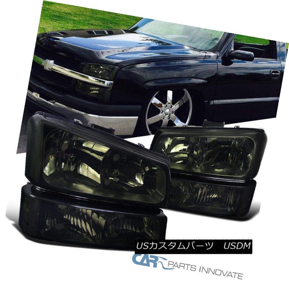 for Honda Civic 01 02 03 Black Housing Clear Corner Headlight Head Lamp Pair