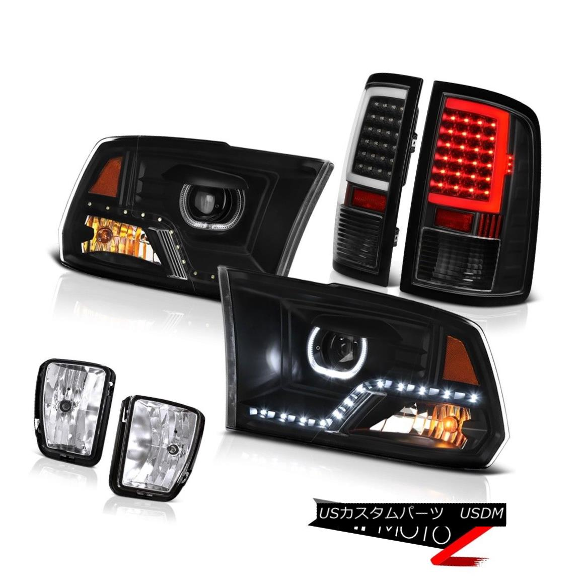 Rear Brake Light Taillight Lamp Pair Set of 2 Red//Amber for 99-00 Civic 4DR