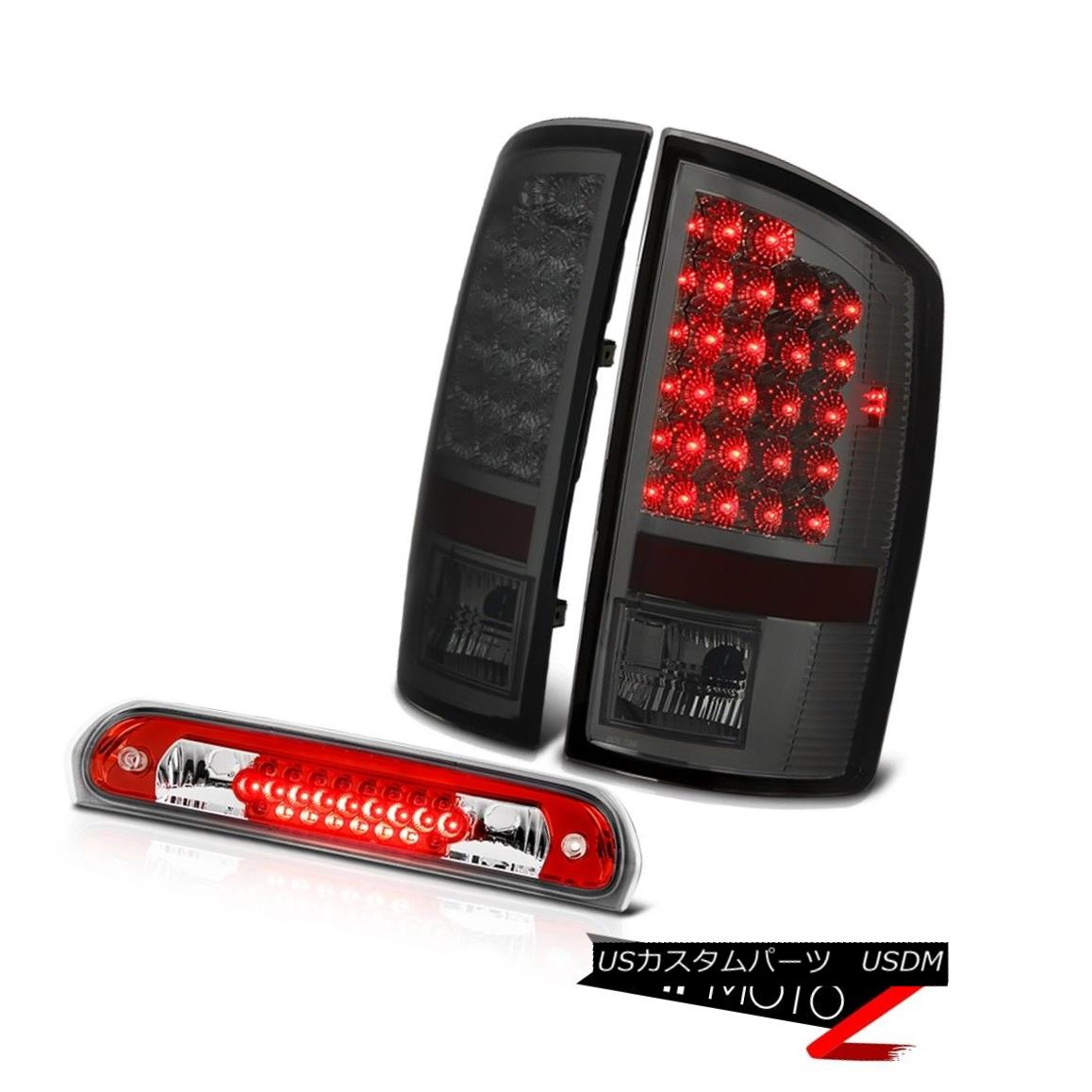 Taillights Taillamps Brake Lights Left /& Right Pair Set for 04-08 F150 Styleside