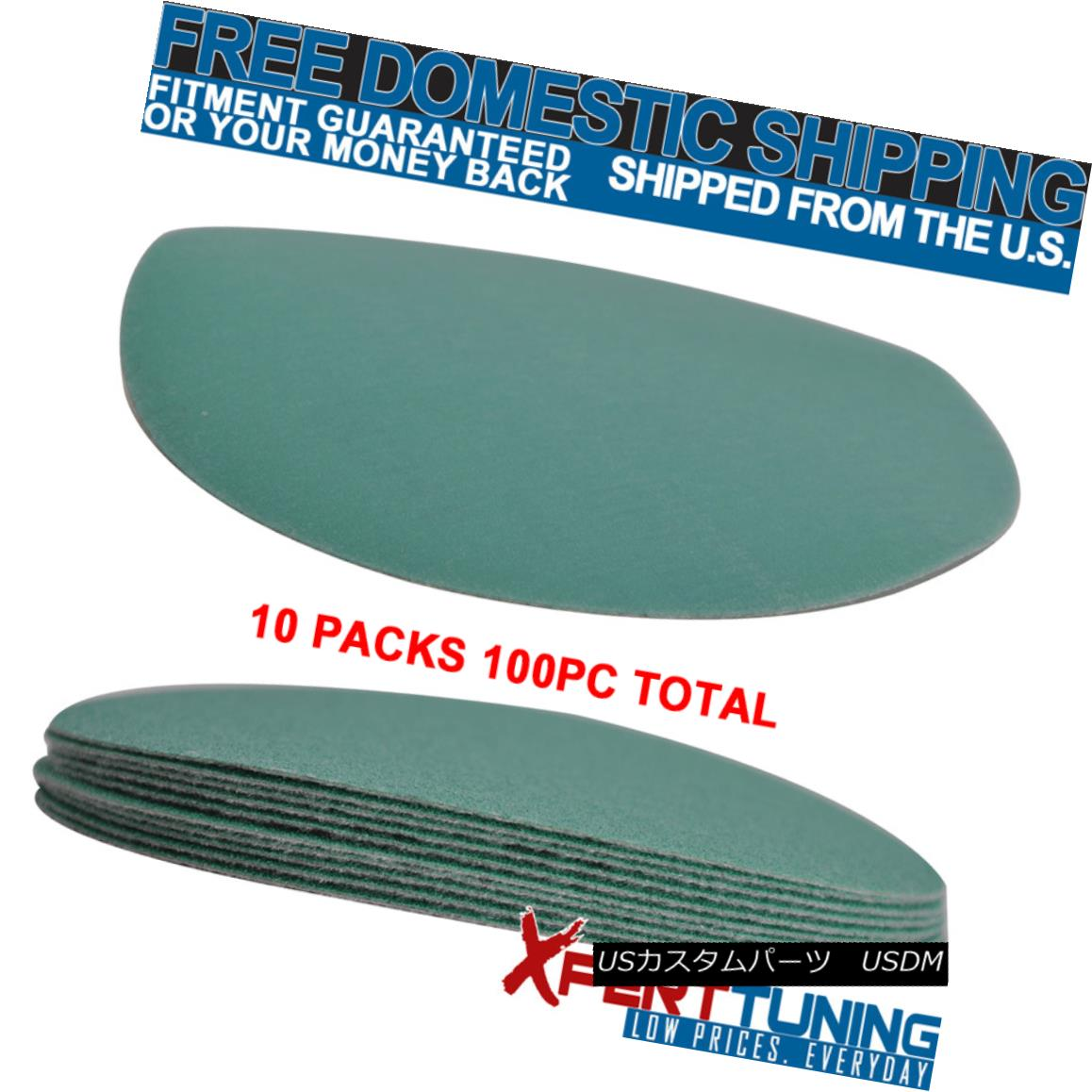 Wet Dry 5 Inch No Hole Sand Paper Disc 320 Grit Body Repair Sanding Sheet 100 PC