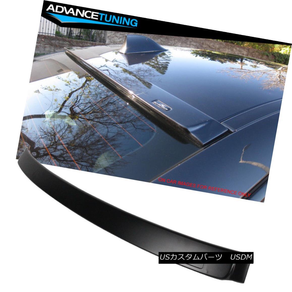 Fits 12-18 BMW 3 Series F30 4Dr Sedan AC Style Unpainted ABS Roof Spoiler