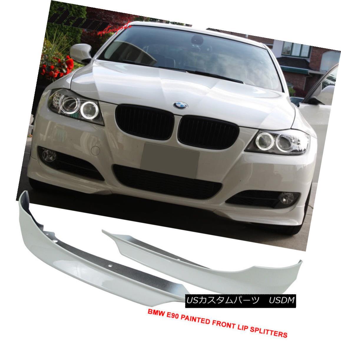 Fits 97-00 BMW E39 5 Series Front Bumper Lip Unpainted PU