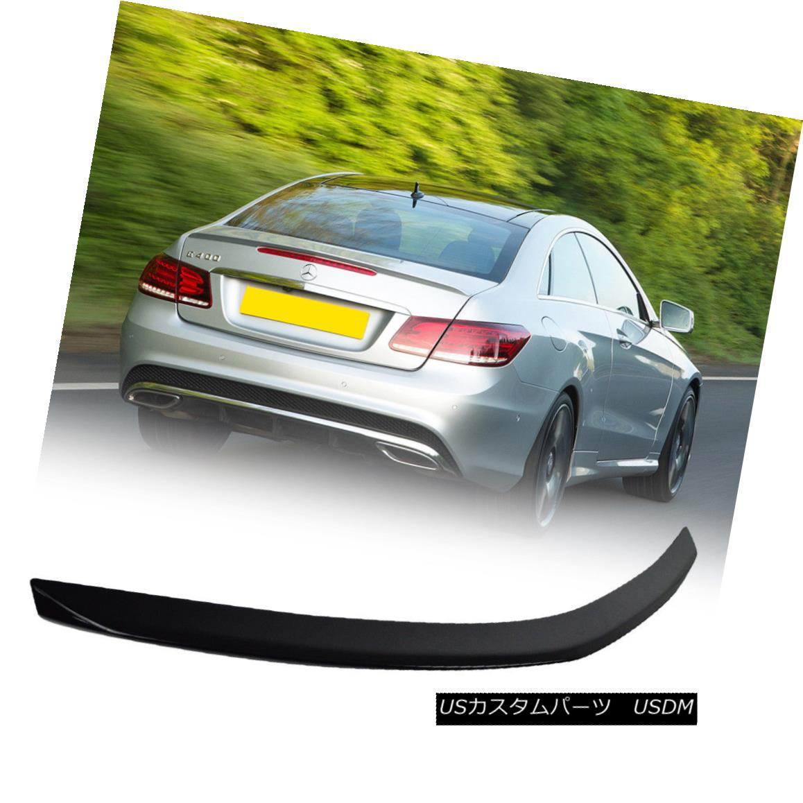 PAINTED C207 COUPE For Mercedes Benz E-CLASS ROOF SPOILER WING ABS 2009+