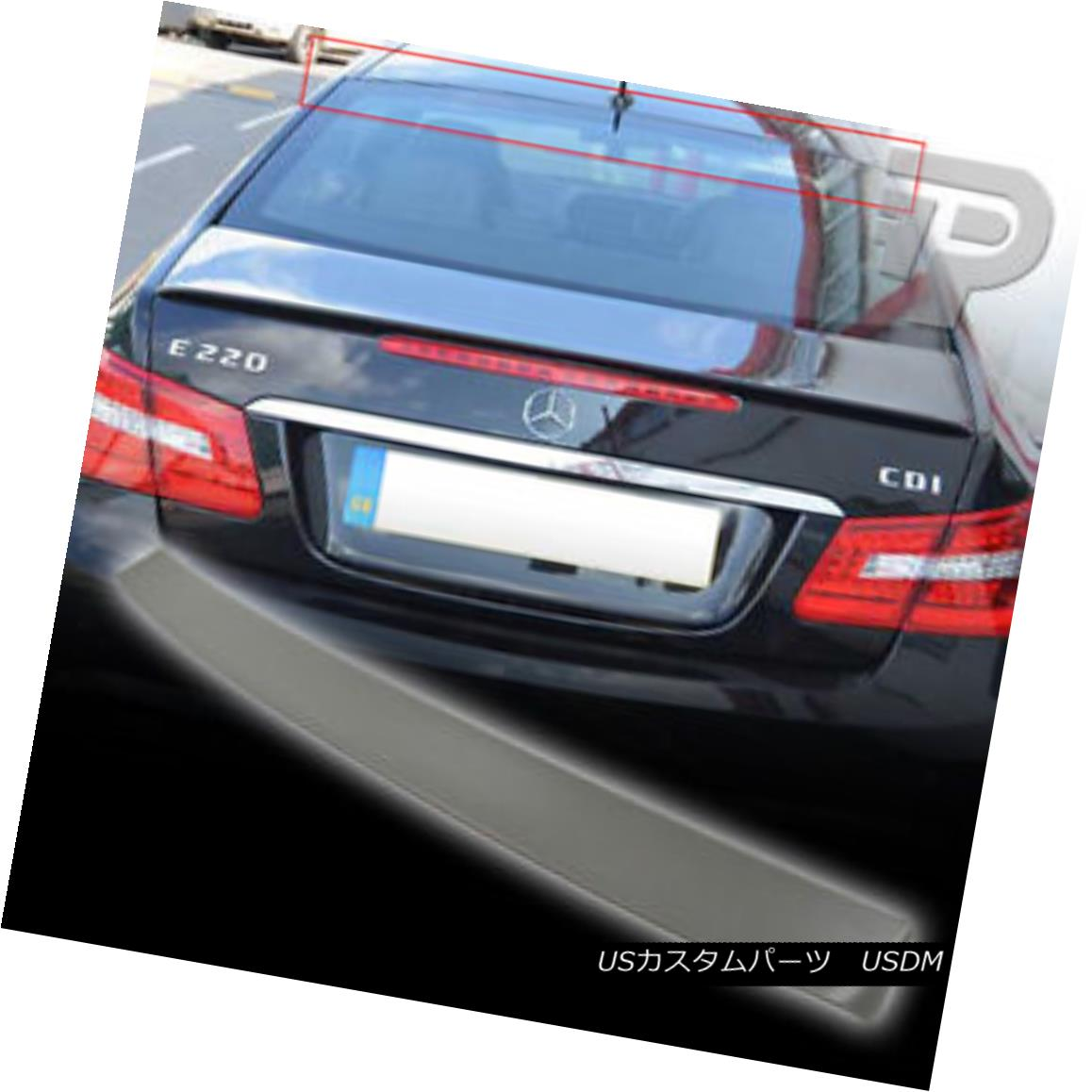 Fit For Mercedes Benz E class W207//C207 Rear Window Roof Spoiler Wing