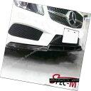 エアロパーツ W176 BS Style Carbon Fiber Front Lip Spoiler For 13-14 A180 A250 AMG / A45 CF W176 BSスタイルカーボンファイバーフロントリップスポイラー13-14 A180 A250 AMG / A45 CF