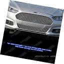 グリル Fits 2013-2015 Ford Fusion Billet Grille Combo フィット2013年から2015年フォードフュージョンビレットグリルコンボ