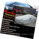 カーカバー 2015 AUDI A4 S4 Waterproof Car Cover w/Mirror Pockets - Gray 2015 AUDI A4 S4ミラーポケット付き防水カーカバー - グレー