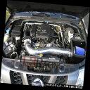 エアインテーク インナーダクト 05-12パスファインダーXterra Frontier 4.0 V6用のブルーシールドエアインテークキット BLUE Heat Shie..