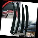 ベントバイザー ドアバイザー レインガード マツダ3 4ドアセダン04-09ウィンドウバイザー用サンベントガードウィンドデフレクター4PCS For Mazda 3 4-Door Sedan 04-09 Window Visors Sun Vent Guard Wind Deflector 4PCS